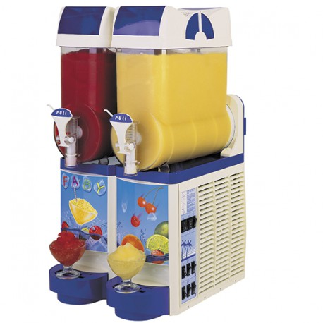 Slush machine, 2x 10 litres