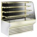 Vitrine réfrigérée ventilée pour pâtisserie avec 3 étagères, +7 °C/+10 °C, 1320 mm