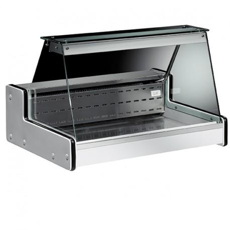 Vitrine réfrigérée statique de table, +2 °C/+4 °C, 1000 mm