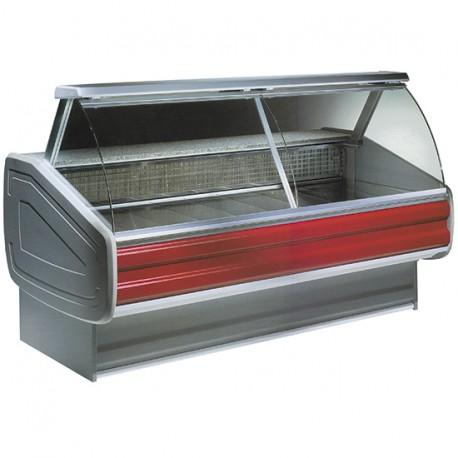 Comptoir réfrigéré statique avec vitre curbe, +4 °C/+6 °C, 3500 mm