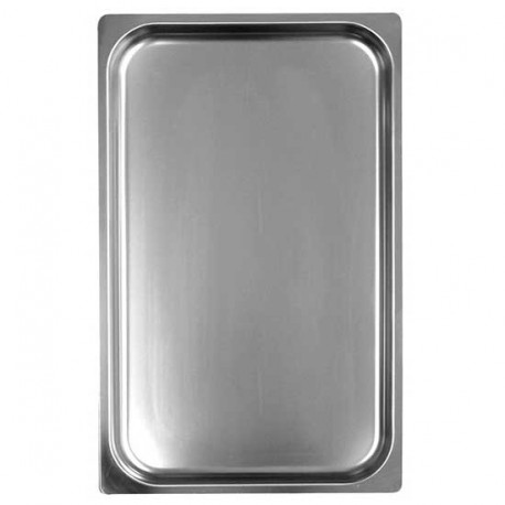 GN container in stainless steel, GN 1/1 H 150 mm