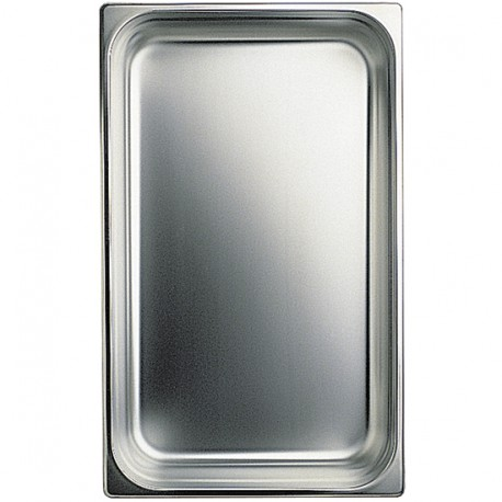 GN container in stainless steel, GN 1/1 H 40 mm