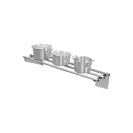 Etagère tubulaire inox 1200x300