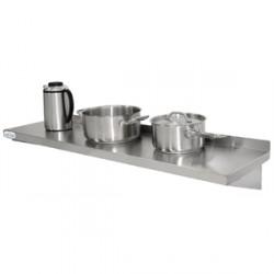 Stainless Steel Kitchen Shelf 1500 X 300 mm