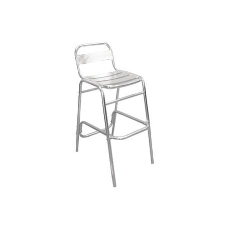 Bolero Aluminium Stacking Chair