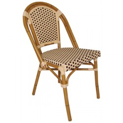 Continental Bistro Wicker Armchairs 820mm