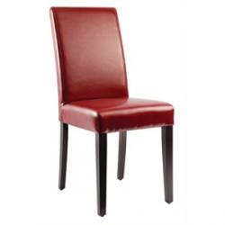 Bolero Faux Leather Dining Chairs Cream