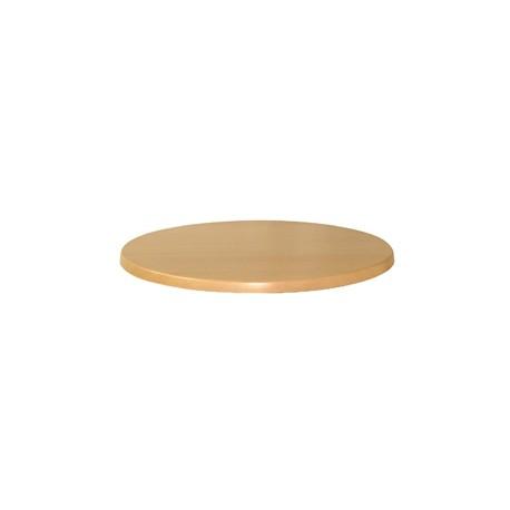 Bolero Square Table Top Black 600mm