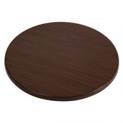 Werzalit Round Table Top Oak Effect 800mm