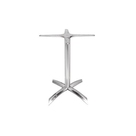 Bolero Aluminium Four Leg Table Base