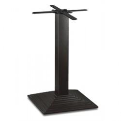 Bolero Cast Iron Step Square Table Base