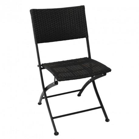 Bolero Bistro Sidechairs Aluminium Red