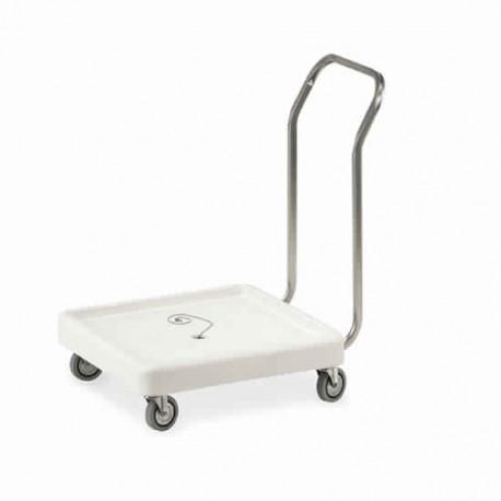 chariot à transport paniers pour lave-vaisselle, 515x515 mm