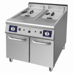 friteuse à gaz 2 x 22 Litres - 31 Kw