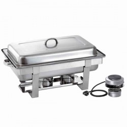 chafing dish elettrico GN 1/1 h 65 mm