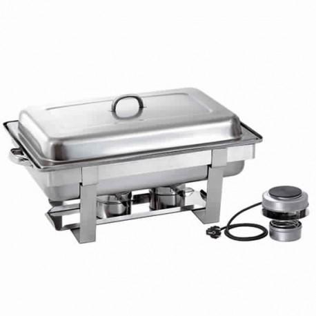 chafing dish électrique, 1x GN 1/1 h 65 mm