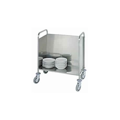 chariot à transport assiettes, capacité 200 assiettes