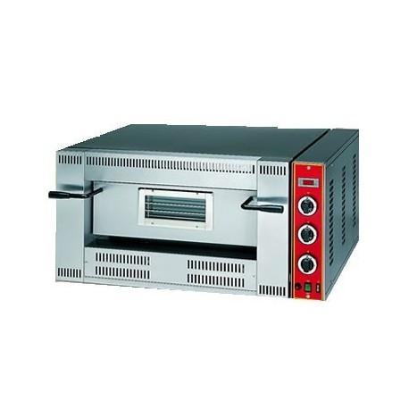 Four à pizza à gaz pour 4 pizzas ø 33 cm, contrôle électronique