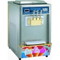 Soft ice machine with air/water condensation, capacity 2x 7 litres