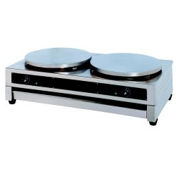 Crepe equipment 40cm / with 2 plates