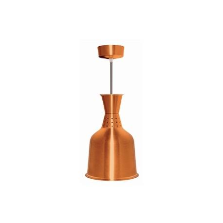 Lampe chauffante en aluminium couleur laiton
