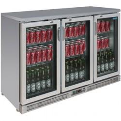 Arrière-bar portes à charnières 273 bouteilles