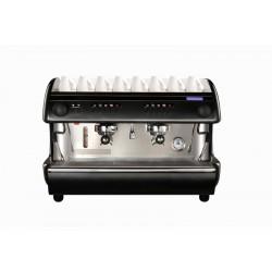 Machine à café / expresso 2 groupé / en blanc