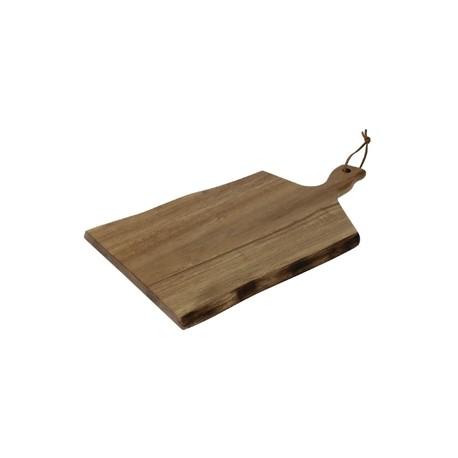 Petite planche en acacia bords ondulés