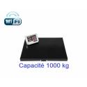 BALANCE AU SOL AVEC PLATEFORME 1000 KG - CONNEXION WIFI