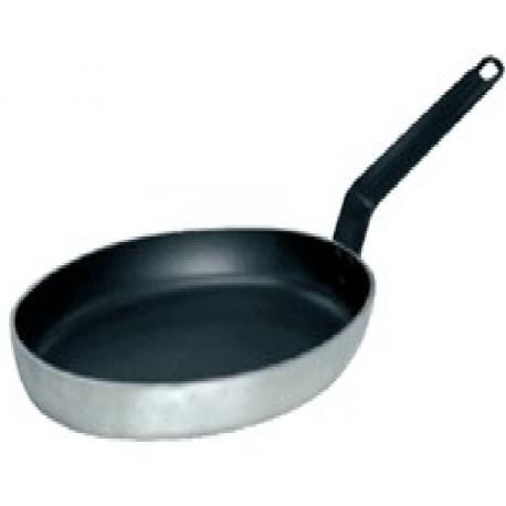 Poêle   professionnelle ovale Gastro