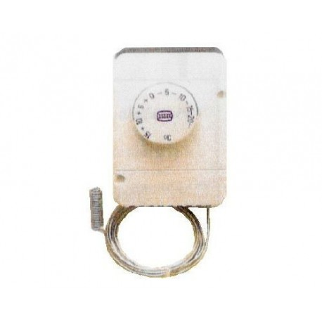 THERMOSTAT IP40 230V 16A TMINI -35°C TMAXI 35°C CAPILAIRE 90MM BULBE:110MM