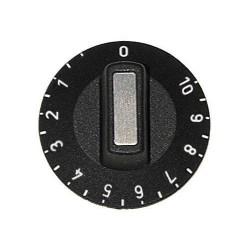 MANETTE POUR DOSEUR D`ENERGIE EGO 0-1-2-3 Ø50MM NOIRE