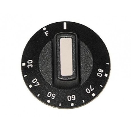 MANETTE ROTATIVE 50 MM THERMOSTAT 85°.