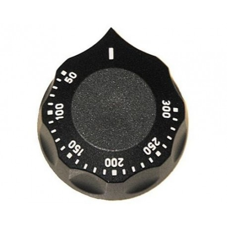 MANETTE ROTATIVE 60 MM THERMOSTAT 50-300°