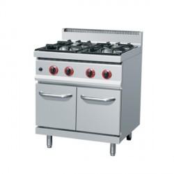 Cuisinière au gaz 4xbrûleurs (19 kW)