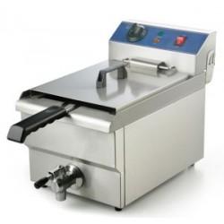 Friteuse professionnelle électrique 16 litres 6 kw/ 380 volts