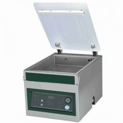 Machine sous vide de table, soudure 400 mm, 20m3/heure