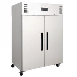 Armoire réfrigérée positive gastronorme double porte 1200L