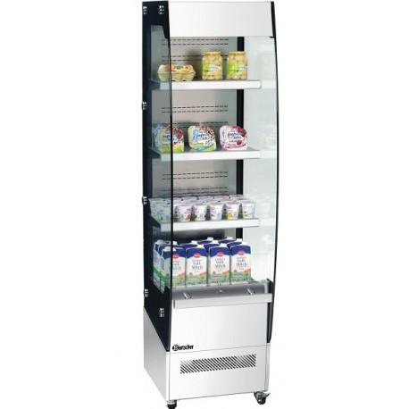 Vitrine réfrigérée à plusieurs étagères 220L Polar