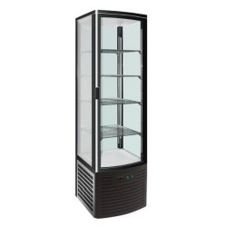 Vitrine réfrigérée avec portes incurvées Polar