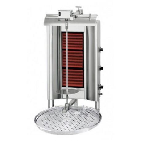 Grill à kebab 3 radiateur / maximal 60kg