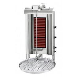 Grill à kebab 4 radiateur / maximal 80kg