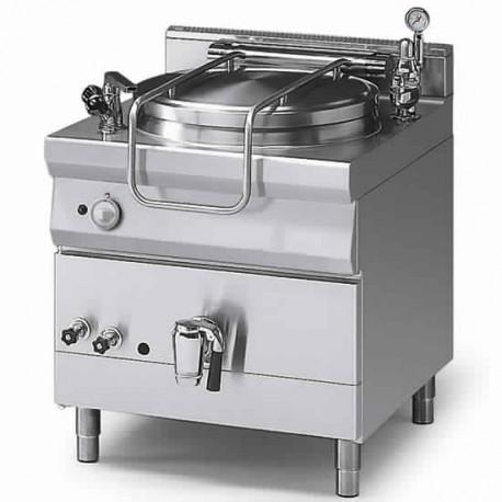 marmite gaz, chauffe indirecte, 100 litres