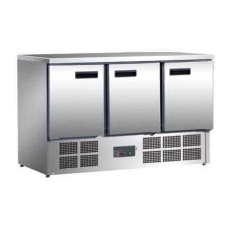 Table réfrigérée 3 portes 368L