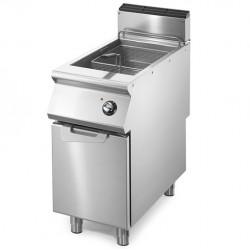 Friteuse électrique professionnelle 1 cuve 17L sur placard Série 700
