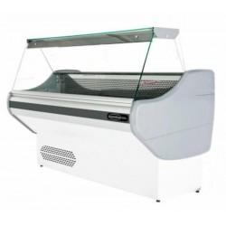 Comptoir réfrigéré statique avec vitre droit, +4 °C/+6 °C, 2000 mm