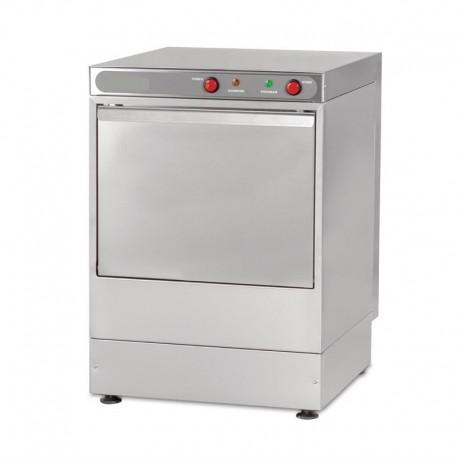 Lave-vaisselle mécanique avec pompe de décharge, panier 500x500x325 mm
