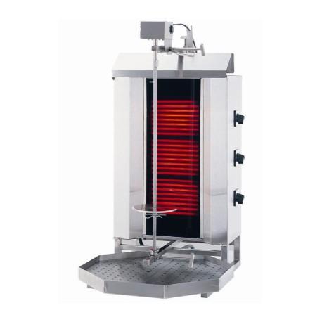 Machine à kebab électrique - 3 brûleurs / 40 kg max. - qualité Allemande