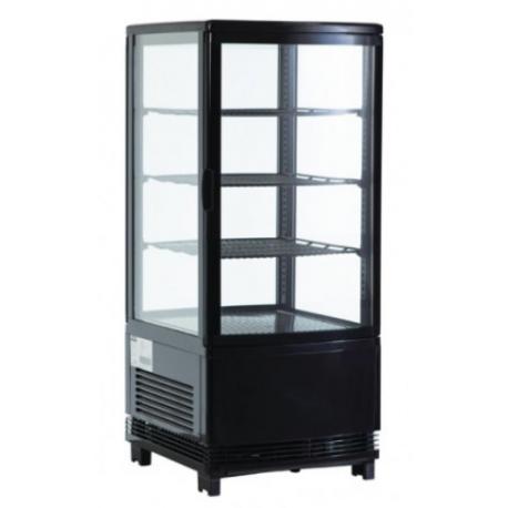 Vitrine réfrigérée panoramique - Paiement 4X - Garantie 2 ans - 68 L - Classe N