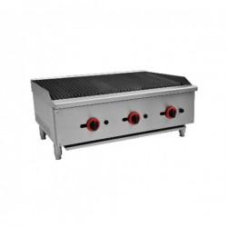 Lave gaz roche grill ( 7 kW ) - grill inclinaison